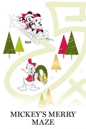 Mickey's Merry Maze