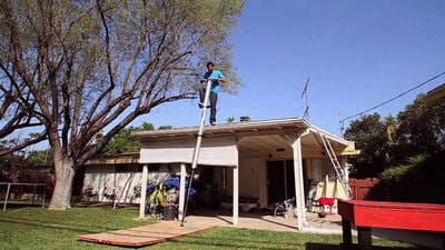 World's Tallest Pogo Stick