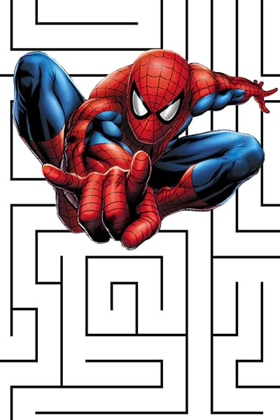 Labyrinthe Spidey contre le Lézard