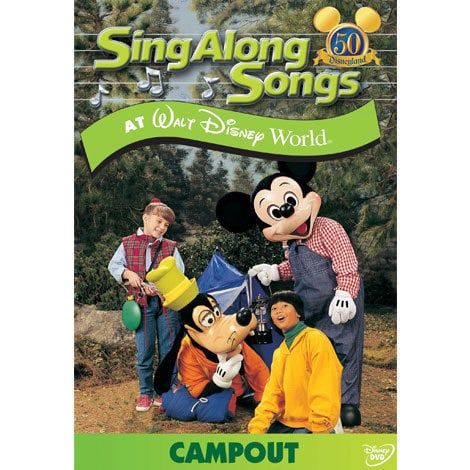 Sing Along Songs at Walt Disney World: Campout DVD