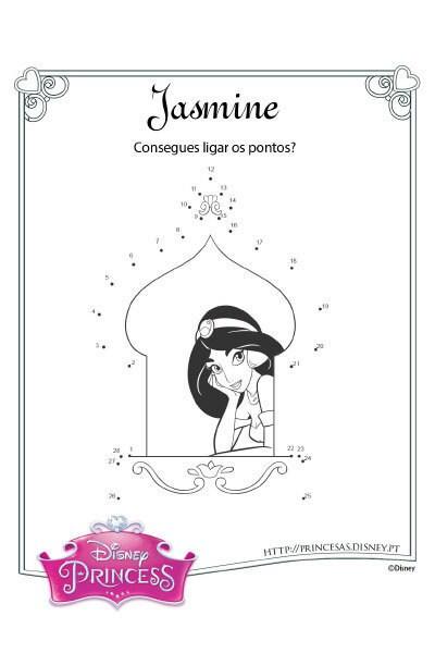 Liga os pontos da Jasmine