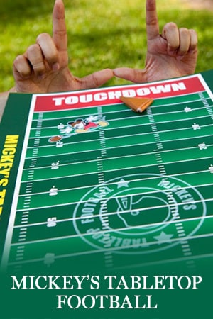 Mickey's Tabletop Football