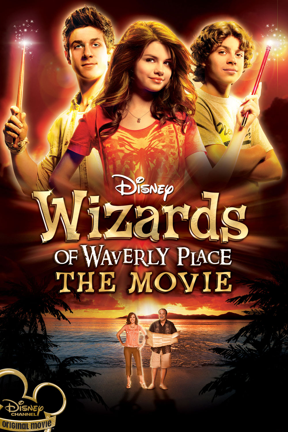 Disney Wizards of Waverly Place: The Movie movie poster