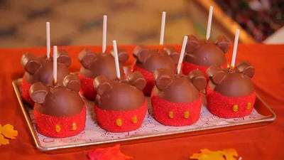 Mickey Candy Apple
