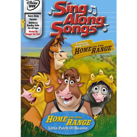 Sing Along Songs: Home On The Range DVD
