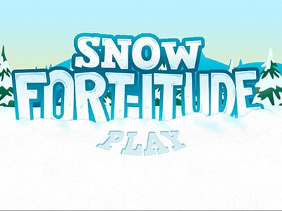 Snow Fort-itude