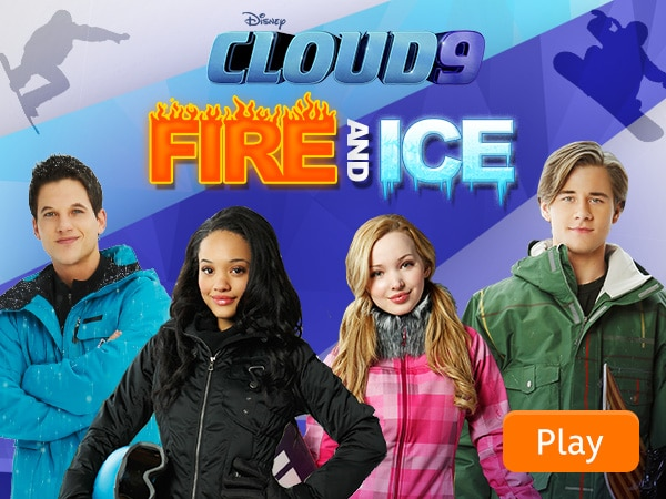 Cloud 9 Fire and Ice Disney LOL