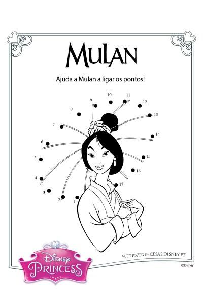 Une os pontos com a Mulan