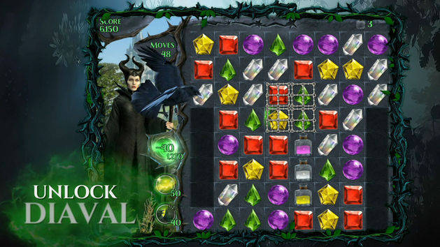 Maleficent Free Fall App Trailer