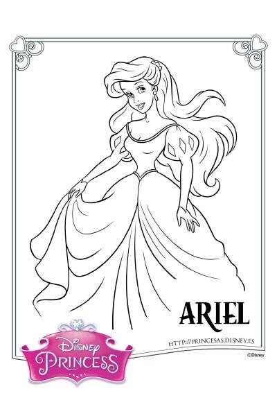 Colorea Con Ariel