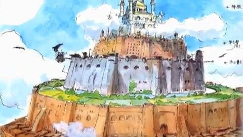 Featurette: Creating Castle In The Sky