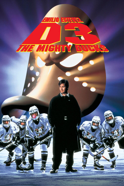 Emilio Estevez, D3: The Mighty Ducks movie poster