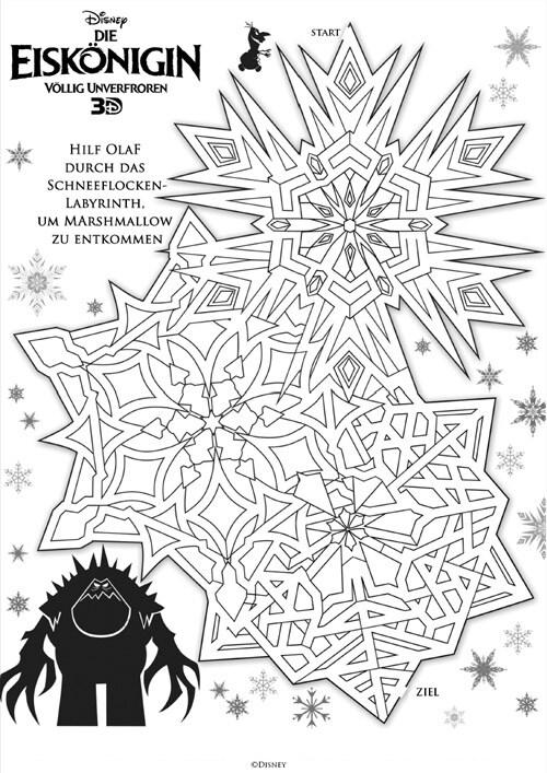 Die Eiskönigin - Schneeflocken-Labyrinth
