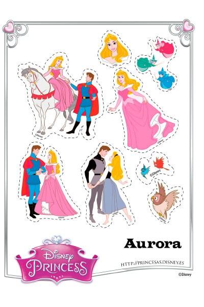 Pegatinas de Aurora