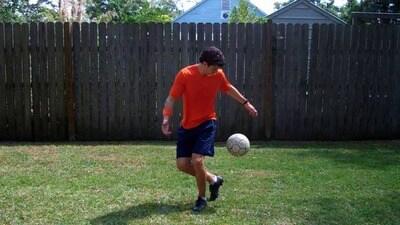 Soccer Tricks - Toe Pop   Online Soccer Academy   Disney Video