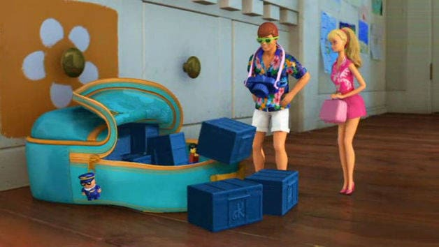 Ken and Barbie's Vacation