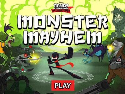 Randy Cunningham Monster Mayhem Disney LOL