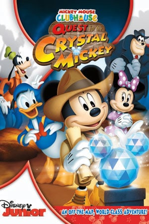 mickey mouse clubhouse and the quest for the crystal mickey - Mickey Mouse Christmas Movies