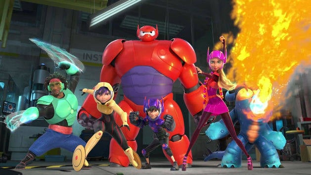 Big Hero 6 Bot Fight Trailer