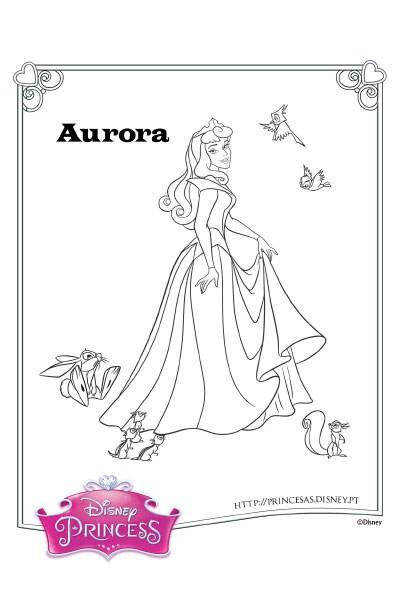 Colorir a Aurora 3