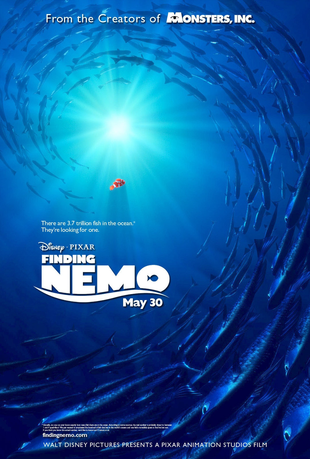 finding nemo official site disney movies