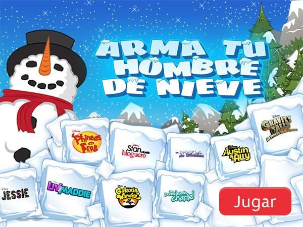 Disney Channel - Arma tu hombre de nieve