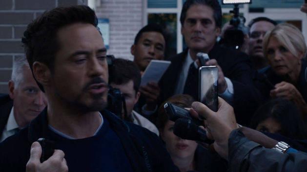Tony vs. Mandarín - Iron Man 3