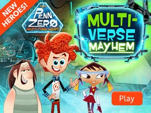 Penn Zero: Part Time Hero - Multiverse Mayhem