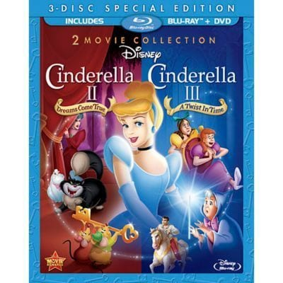 Cinderella II & Cinderella III Special Edition 2-Movie Collection Blu-ray™ Combo