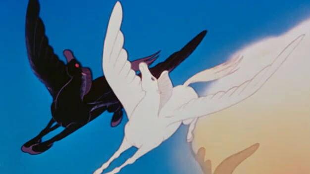El vuelo mítico - Fantasía