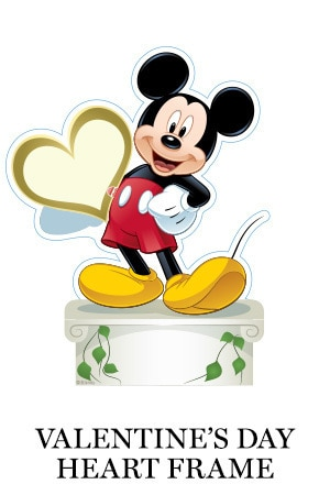 Mickey Valentine's Day Frame