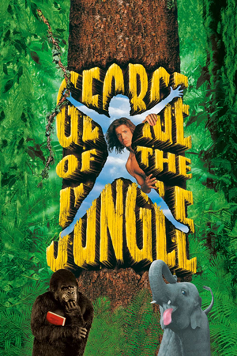 george of the jungle disney movies George of the Jungle DVD