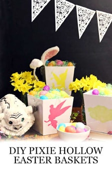 Tinker Bell and the Legend of the NeverBeast Activity -  Easter Baskets