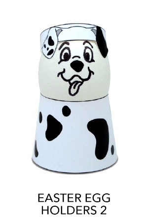 101 Dalmatians - Easter Egg Holders 2