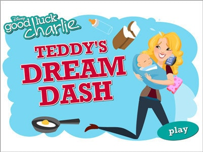 Good Luck Charlie: Teddy's Dream Dash