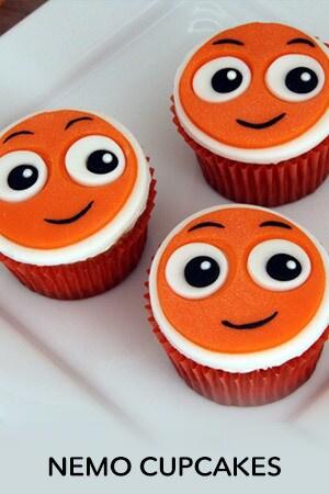 Nemo Cupcakes