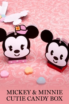 Mickey & Minnie Cutie Candy Box
