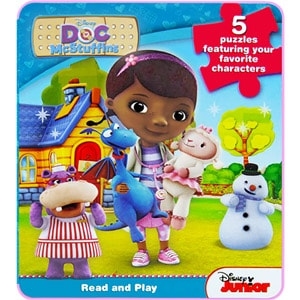 Doc McStuffins: My First EVA Puzzle Book