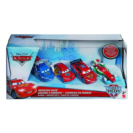 Cars Ice Racers - Moscow Ice Racer 4er Pack von Mattel