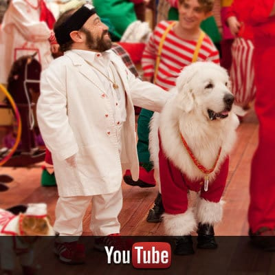Santa Paws on YouTube