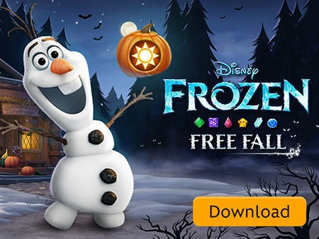 Frozen Free Fall Halloween