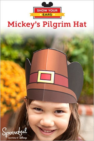 Mickey Pilgrim Hat