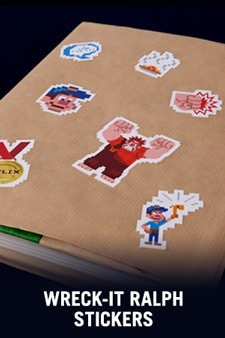Wreck It Ralph Stickers