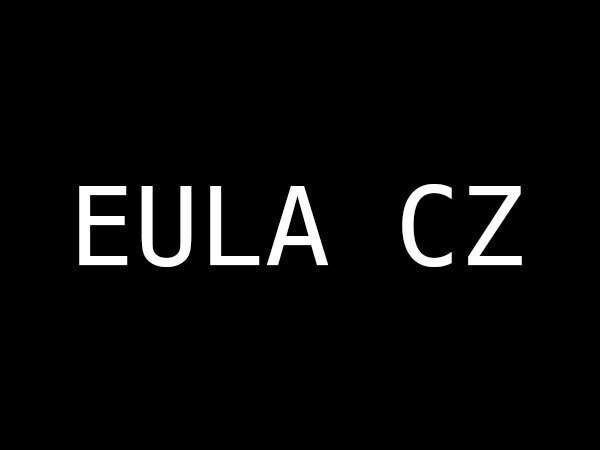EULA CZ