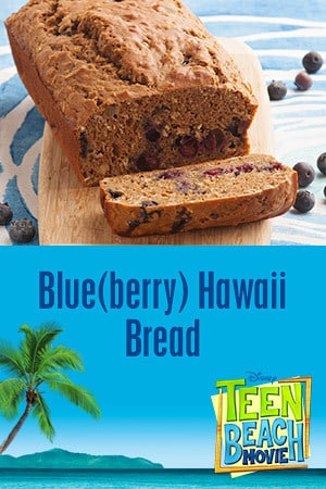 Teen Beach Movie Party Kit - Recipe (Blue (berry) Hawaii Bread))