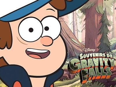 Jeux Souvenirs de Gravity Falls