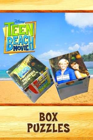Teen Beach Movie Party Kit - Printable (Box Puzzles)