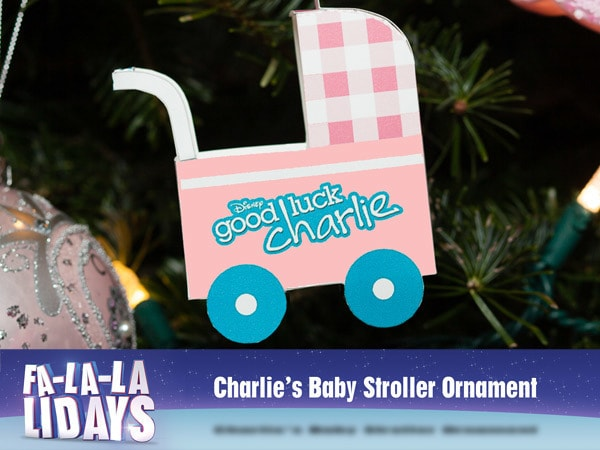 Good Luck Charlie Baby Stroller Ornament
