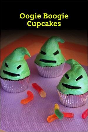 Oogie Boogie Cupcakes