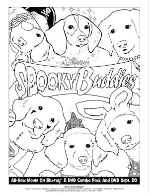 Spooky Buddies Activities
